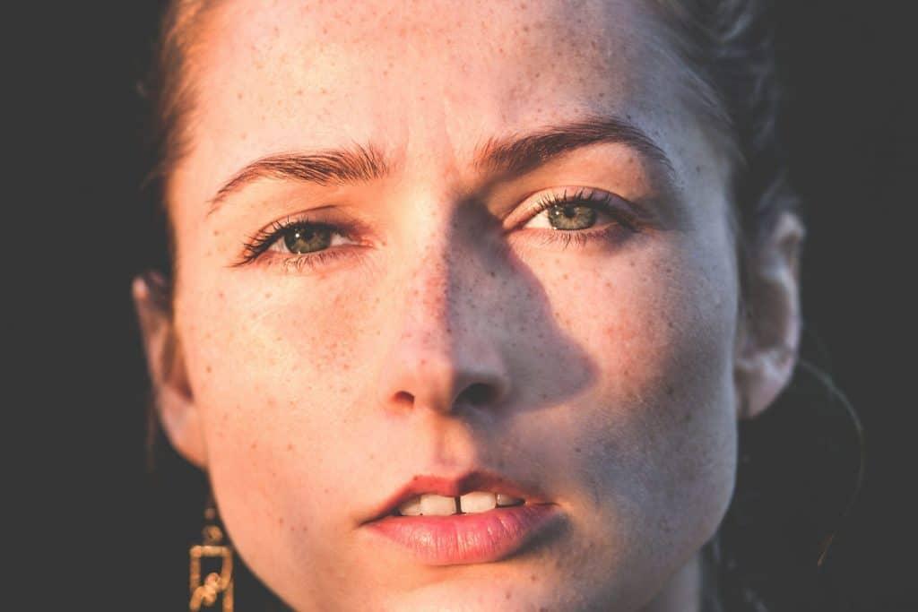 Vrouw met tweede burn-out