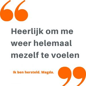 Burn-out quote van Magda